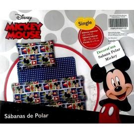 Frazada de Polar / Diseño Mickey