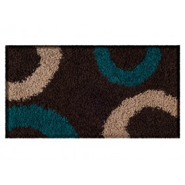 Alfombra Shaggy 1.8k Studio 50x90 Hoop Chocolate