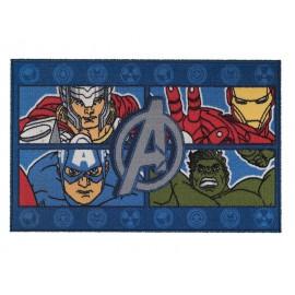 Bajada de Cama 57x90 Avengers Four Power