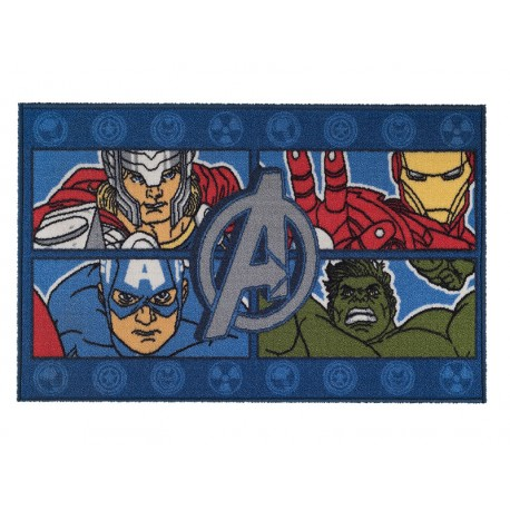 Bajada de Cama 57x90 Avengers Four Power