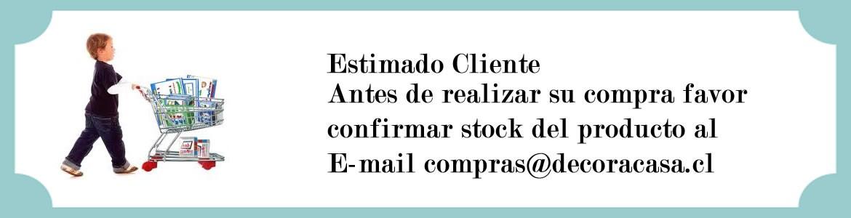 Confirmación de stock